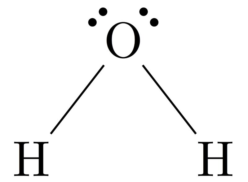 Geometri Molekul H2O